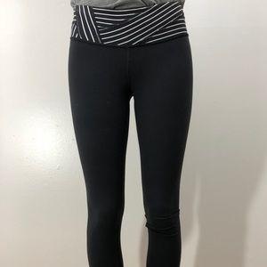 Reversible Lululemon leggings cropped